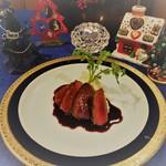 レストラン ストックホルム - トナカイ肉のロースト