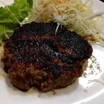 肉卸直営 大衆肉酒場 きたうち - きたうちバーグ200g
