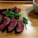 肉卸直営 大衆肉酒場 きたうち - ラムシン?柔らかい肉