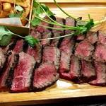 肉卸直営 大衆肉酒場 きたうち - モモ肉700g強