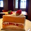 サフラン - 料理写真:雪景色とケーキもいいね*.❄
