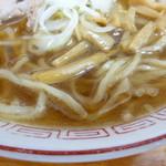 中華そば 琴の - 麺とスープ