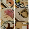 あま野 - 料理写真:刑事すぎる甘海老♡天然のトラフグ♡脂乗りすぎなアジ♡鮑♡明石のタコ♡