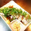 とりマル - 料理写真:ササミのタタキ 580円