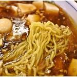 トーフラーメン 幸楊 - ちゅるちゅるな麺。