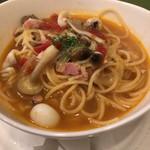 ウロンヤ - ナポリ風スープスパゲティ1200円(161123)