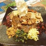 59283843 - 最強のインド亜大陸食堂酒場 Kalpasi さんが、経堂で再開しました〜最強最高のスリランカプレート大満足の一夜ですね〜