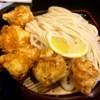香房 - 料理写真:鶏天ざるうどん