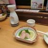 入船 - 料理写真:霜月2016' 熱燗(小)650円、お通し(300円)