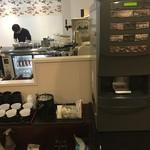 甲子園 牛萬 離れ - セルフのサービスコーヒー(ひとり1杯)