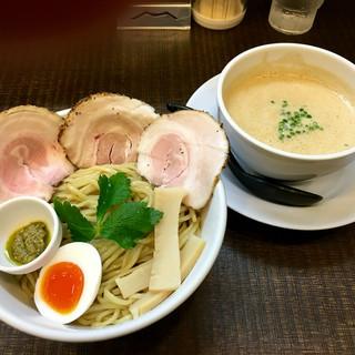 ラーメン家 みつ葉 - 料理写真:豚CHIKIしょうゆつけ麺