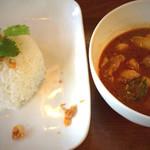 和sian-cafe aimaki - マッサマンカレー 1,180円