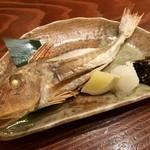 軍ちゃん - 定食の焼き魚(かながしら) 煮、揚げに変更できます