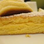 幸せのパンケーキ - 幸せのパンケーキ断面アップ