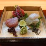 和食 こんどう - 長崎産のまぐろ、氷見のぶり、宮城の平目