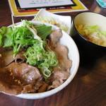 キッチン 喰らう - 料理写真:牛タンねぎ塩丼820円(内税)。