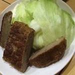 めんじい - まるしんハンバーグ