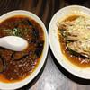 珉珉 - 料理写真:麻婆茄子¥650と、蒸鶏四川ソース¥600