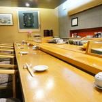小判寿司 - 店内