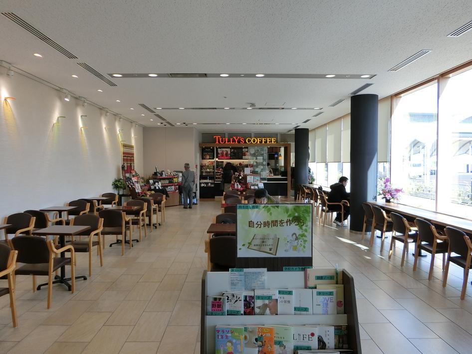 タリーズコーヒー 岡山市民病院店