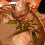 銀平 - お造り:太刀魚、アナゴ