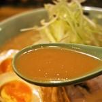 糸末 - 味噌ラーメン(スープ)