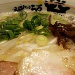麺の坊 砦 - ネギは九条ねぎ 2016.11