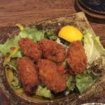 花菜 - カキフライ(2016年11月)