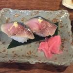 花菜 - さば寿司(2016年11月)