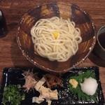 花菜 - 釜あげうどん湯葉おろし(2016年11月)