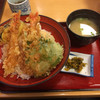 天丼専門店 てんき - 料理写真:天丼ごはん大盛り 2016年11月