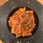 イルバンボリーノ - 牛挽肉とイタリア産グリーンピースのミートソースカサレッチェ1000円