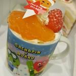 ポワソン・ダブリール - 料理写真:プリンアラモード 390円
