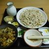 ゆずの庄 - 料理写真:きのこ汁うどん(大盛