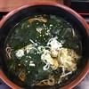 そば うどん 萩 - 料理写真:十三浜わかめ蕎麦(460)