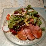 神戸ビーフダイニング モーリヤ - サラダ このローストビーフがとっても美味しかったです