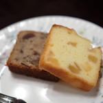 歐林洞 - パウンドケーキ(洋梨・ショコラ)