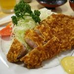 とんき - (2016/10月)「ロースカツ定食」