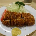 とんき - (2016/10月)「ヒレカツ定食」