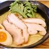 極楽鳥 - 料理写真:こってり塩らーめん 780円 旨味濃密な塩!