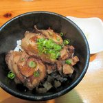 麺や七福 - チャーシュー丼2016.11.27