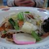 蓮田サービスエリア(下り線)レストラン - 料理写真:皿うどん950円 九州人には甘みが足りない