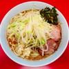 ラーメン二郎 - 料理写真:小ラーメン(野菜少なめ・ピリ辛にらだれ)
