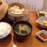 旬の味 たなか - 自家製蟹しゅうまい定食¥1050