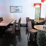 中国料理 吉珍樓 - 以前に ディナーコース で利用した テーブル席。