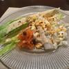 ラ テーラ - 料理写真:平内町産ホワイトアスパラガスのバッサーノ風