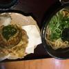 古蝶庵 - 料理写真:地鶏天ぷらセット