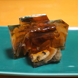 牧野 - 料理写真:ふぐの煮こごり