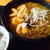 遊庵 - 料理写真:小エビ天カレーそば  出汁の風味も無く残念なそばでした。