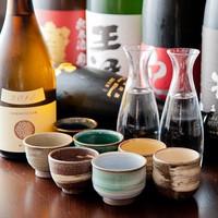 こだわりの日本酒とおいしい生ビールと豊富なドリンク♪